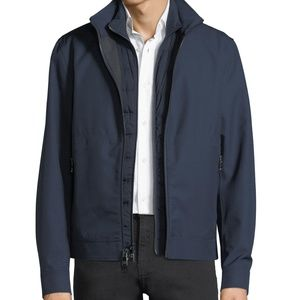 MICHAEL KORS Men's Tech 2 in 1 Jacket Blue XL NWT